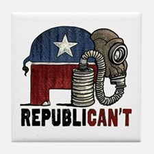 RepubliCAN'T Tile Coaster
