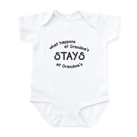 What happens at Grandmas... Infant Creeper