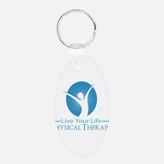 Live Your Life Physical Therapy Keychains