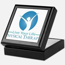 Live Your Life Physical Therapy Keepsake Box