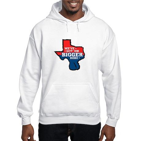 Texas Balls Hooded Sweatshirt