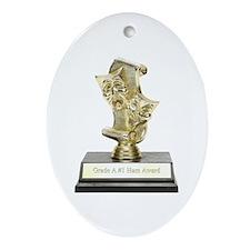 Grade A #1 Ham Award Porcelain Keepsake