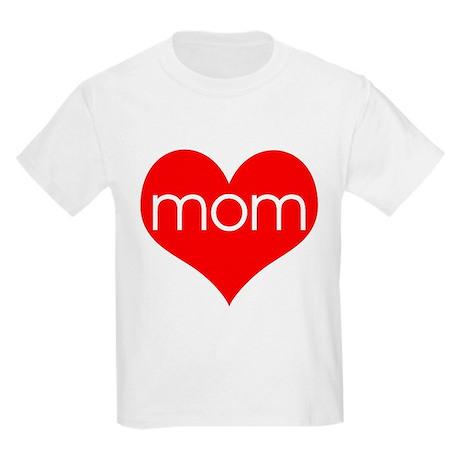 I love Mom Kids T-Shirt