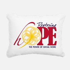Restoring Hope Rectangular Canvas Pillow