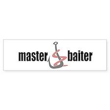 Master Baiter Bumper Bumper Bumper Sticker