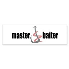 Master Baiter Bumper Bumper Sticker