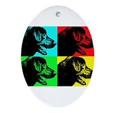 Pop Lab Ornament (Oval)