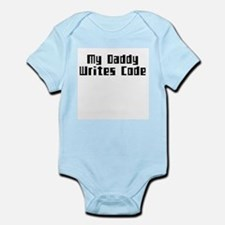 Daddy Code Infant Creeper