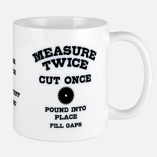 Measure Twice IV Mug