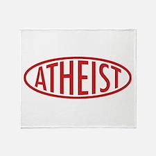 Atheist DuLogo Throw Blanket