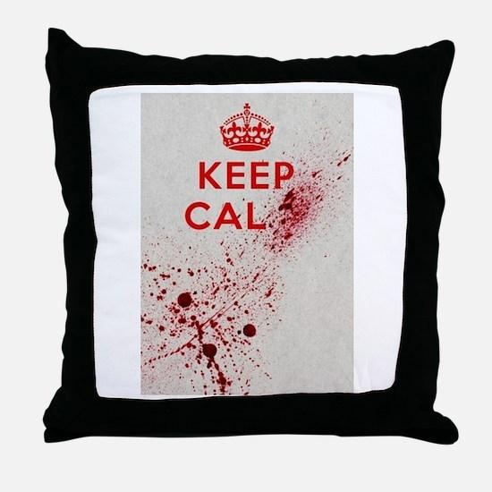 Dont keep calm Throw Pillow