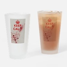 Dont keep calm Drinking Glass