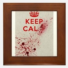 Dont keep calm Framed Tile