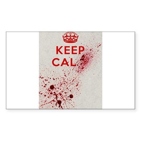Dont keep calm Sticker (Rectangle)