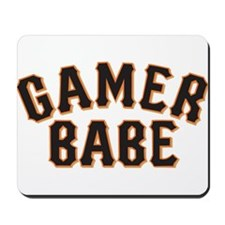 For all you GAMER BABES out there. Mousepad