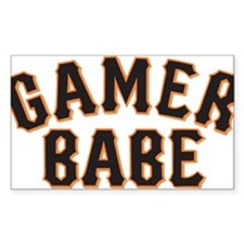 For all you GAMER BABES out there. Decal