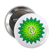 """Atheist Flower 2.25"""" Button (100 pack)"""