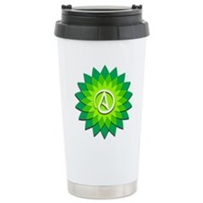 Atheist Flower Travel Mug