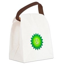 Atheist Flower Canvas Lunch Bag