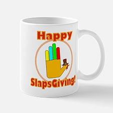 Happy Slaps Giving Mug