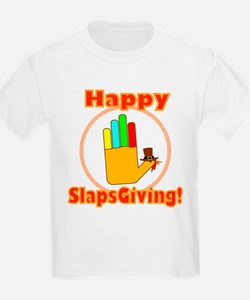 Happy Slaps Giving T-Shirt