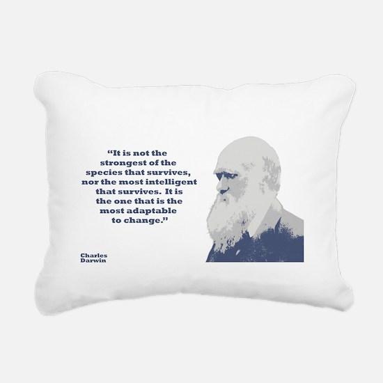 Darwin - Species Rectangular Canvas Pillow