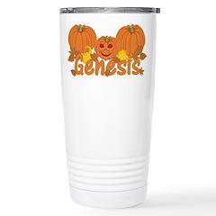 Halloween Pumpkin Genesis Travel Mug