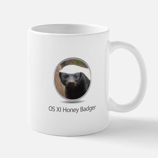 Operating System Honey Badger Mug