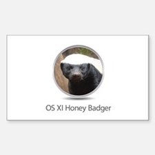 Operating System Honey Badger Decal