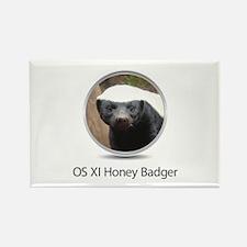 Operating System Honey Badger Rectangle Magnet