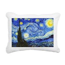 Van Gogh - Starry Night Rectangular Canvas Pillow