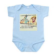 Woman with Curves Infant Bodysuit