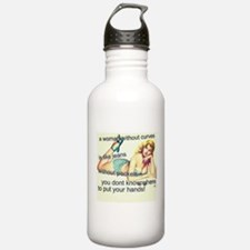 Woman with Curves Water Bottle