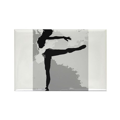 Dance Rectangle Magnet (100 pack)