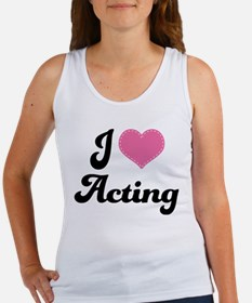 I Love Acting Women's Tank Top