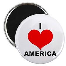 I Love America Magnet