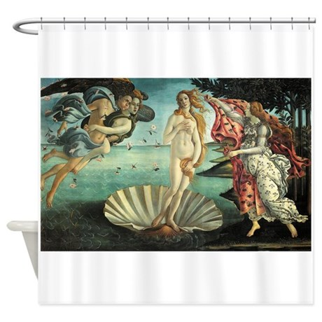 Birth of Venus by Botticelli Shower Curtain