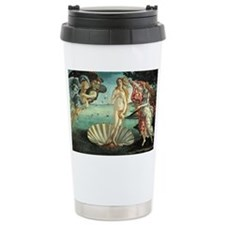Birth of Venus by Botticelli Travel Mug