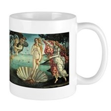 Birth of Venus by Botticelli Small Mugs