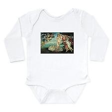 Birth of Venus by Botticelli Long Sleeve Infant Bo