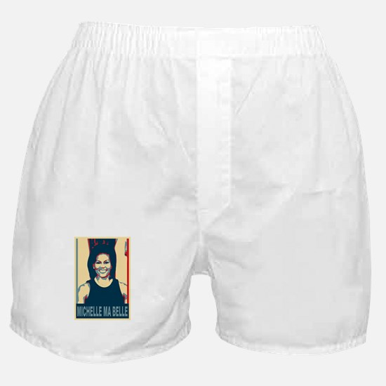 FLOTUS Michelle Obama Pop Art Boxer Shorts