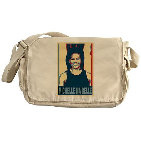 FLOTUS Michelle Obama Pop Art Messenger Bag