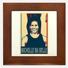FLOTUS Michelle Obama Pop Art Framed Tile