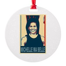 FLOTUS Michelle Obama Pop Art Ornament
