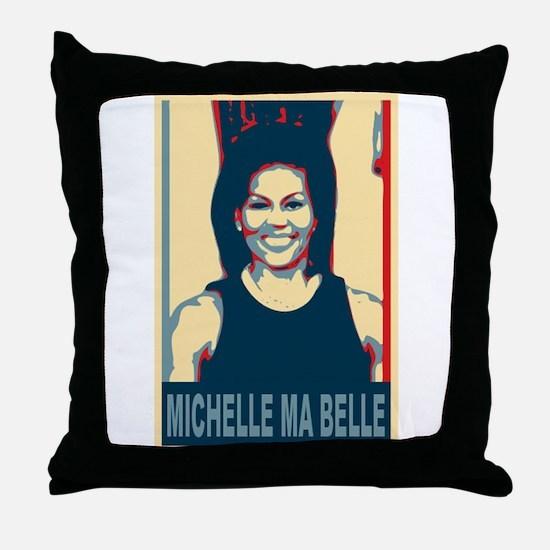 FLOTUS Michelle Obama Pop Art Throw Pillow