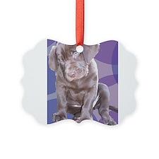 Lab Puppy Ornament