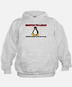 Switch to Linux Hoodie