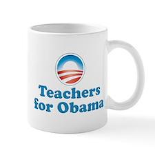 Teachers for Obama Mug