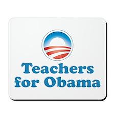 Teachers for Obama Mousepad