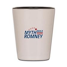 Myth Romney Anti Mitt 2012 Shot Glass